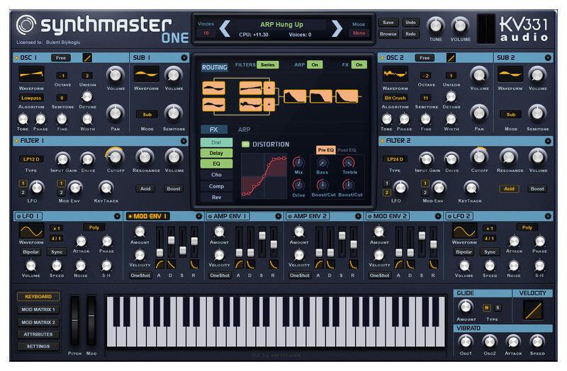 kv331 SynthMaster One crack